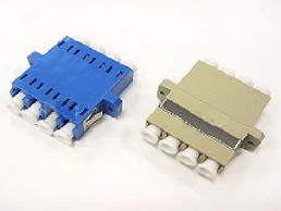 Fiber adapter / LC 4port adapter_housing with hole