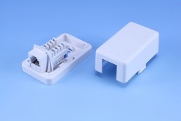Surface mount box-BK+(Keystone) / 3VBK-U1X666