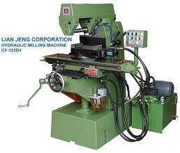 油壓臥式銑床 Hydraulic horizontal grinder machine CF-1230H
